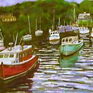 Rockport Boats by Richard Nowak