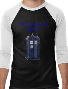 My Name Is Sexy - TARDIS Men's Baseball ¾ T-Shirt
