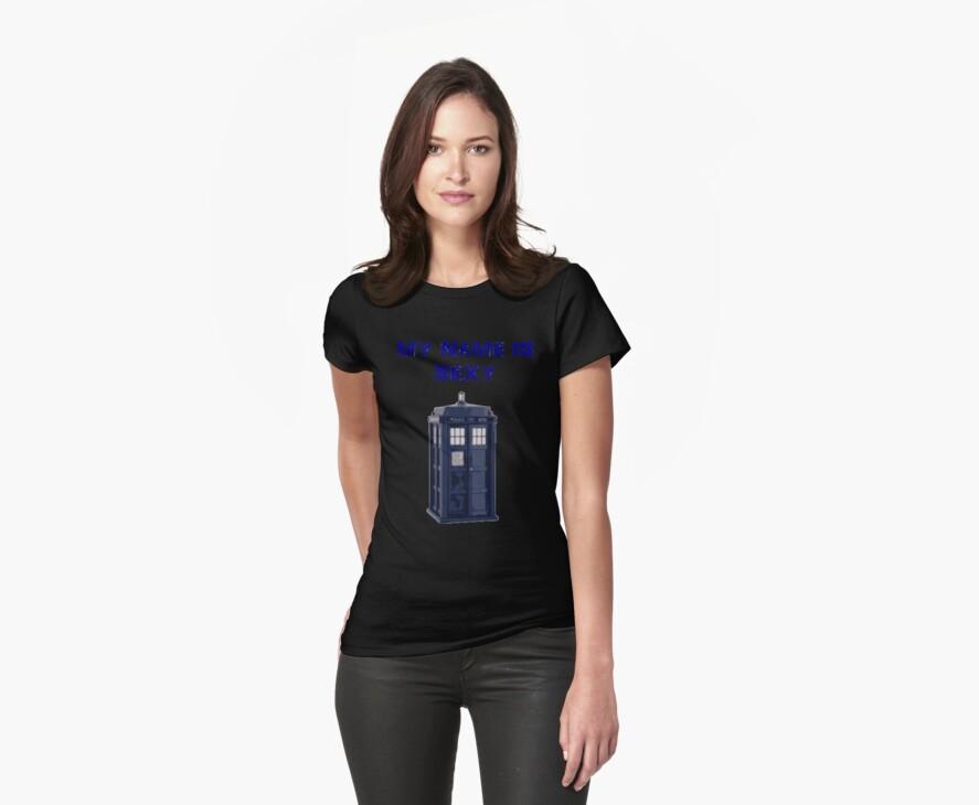 My Name Is Sexy - TARDIS by ScreamBlinkLove