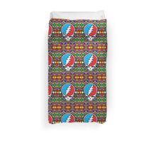 Grateful Dead Trippy Pattern Duvet Cover