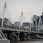 Millenium Bridge at day - London by HelenVidler