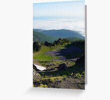 Klahhane Ridge Greeting Card