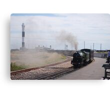 Original Steam Train Transport - Dungeness Canvas Print
