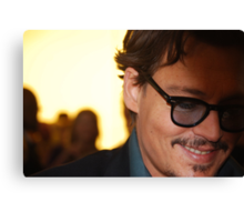 Johnny Depp @ Pirates of the Caribbean 4 Premiere Canvas Print