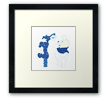 Cartoons Framed Print