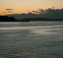 Elliot Bay at Dusk by mrscaer
