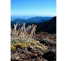 Mt Rainer from Mt Townsend Photographic Print