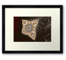 Geometric Patterns No. 42 Framed Print