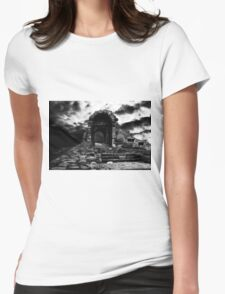 From the past comes the storm Womens Fitted T-Shirt