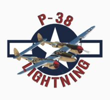 P-38 Lightning  by Mil Merchant