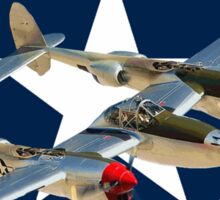 P-38 Lightning  Sticker