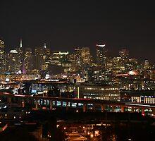 San Francisco Skyline by Nic Horton