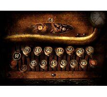Steampunk - Remuneration mechanism Photographic Print