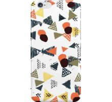 Laange - texture brushstroke art abstract painting print stamp free spirit hipster festival  iPhone Case/Skin