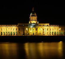 Dublin Customs House, Ireland by Audrey Krüger