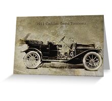 1911 Cadillac Greeting Card