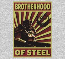 Brotherhood Of Steel One Piece - Short Sleeve