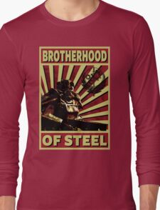 Brotherhood Of Steel Long Sleeve T-Shirt