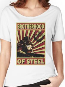 Brotherhood Of Steel Women's Relaxed Fit T-Shirt