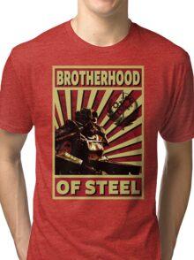 Brotherhood Of Steel Tri-blend T-Shirt