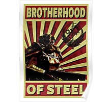 Brotherhood Of Steel Poster