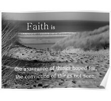 Faith is-gap in the dunes Poster