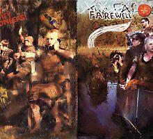 Hey, Hey Pioneers LP cover 2 by Beth Raebel