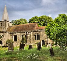 Pluckley Church by JEZ22