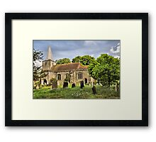 Pluckley Church Framed Print