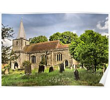 Pluckley Church Poster