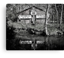 462 miles to New Orlean Canvas Print