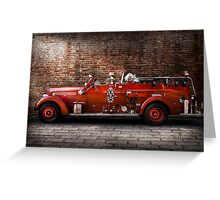 Fireman - FGP Engine No2 Greeting Card