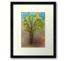 Windy Tree... Framed Print