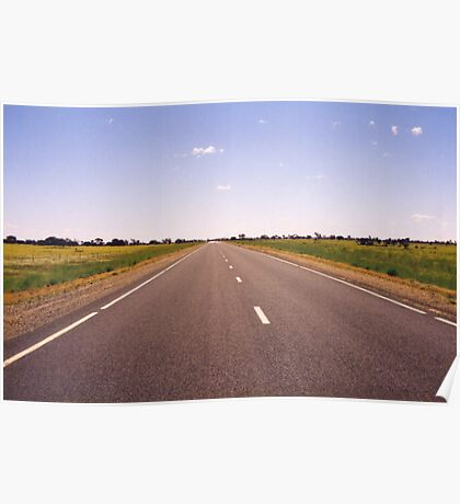 The Road Ahead Poster