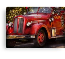 Fireman - The Garwood fire dept Canvas Print
