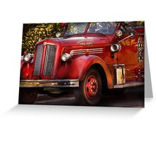 Fireman - The Garwood fire dept Greeting Card