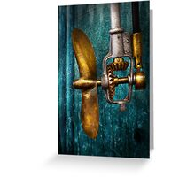 Boat - Propulsion  Greeting Card