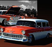 1956 Chevrolet 2 Door Station Wagon by TeeMack