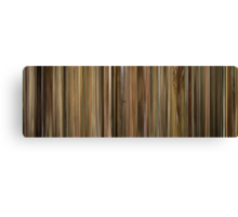 Moviebarcode: Leon: The Professional / Léon (1994) Canvas Print