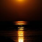 The Stairway to the Moon - Broome  WA. by Alwyn Simple