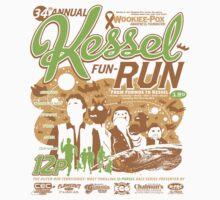 Kessel Fun-Run (12-Parsec Race to Cure Wookiee-Pox) Kids Tee