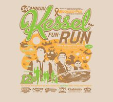 Kessel Fun-Run (12-Parsec Race to Cure Wookiee-Pox) Unisex T-Shirt