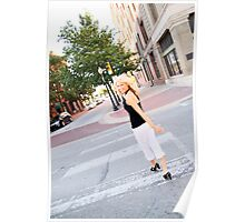 ya know-everyday stroll in downtown Poster