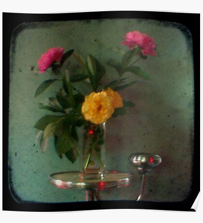 Peonies & Roses - Still Life TTV Poster