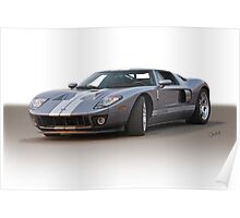2006 Ford GT VS4 Poster
