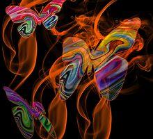 Butterfly Night Life by CarolM