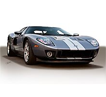 2006 Ford GT VS5 Photographic Print