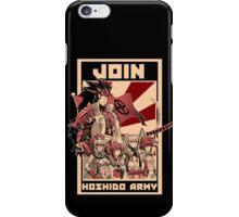 Join Hoshido!  iPhone Case/Skin