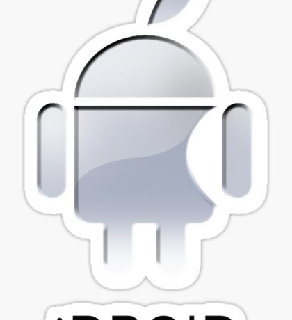 iDroid(text) Sticker