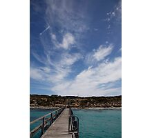 seascapes #270, azure waters Photographic Print
